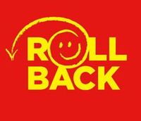 Rollback is a brand used to advertise lowered prices in ASDA stores. It was first used during the 1990s.