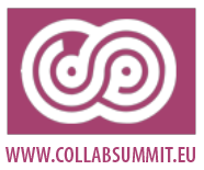 European Collaboration Summit logo with url www.collabsummit.eu