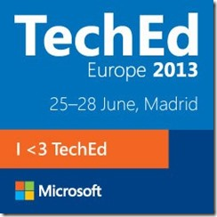TechEd Europe 2013