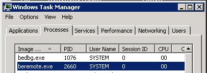 Backing up a Threat Management Gateway using Backup Exec