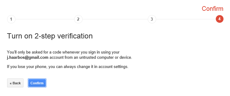 How to use the Microsoft Authenticator WP app with Google