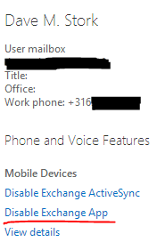 The mysterious Exchange App, the new ActiveSync? - Dave Stork's IMHO