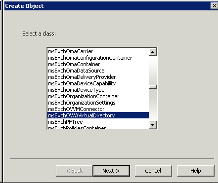 Fixing a broken OWA 2010 Virtual Directory - Dave Stork's IMHO