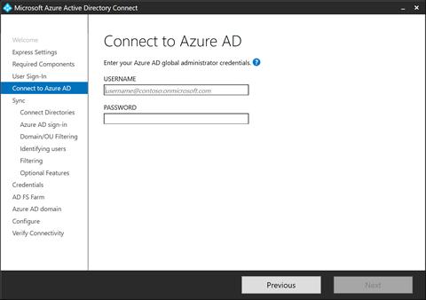 Connect to Azure AD (click for original screenshot)