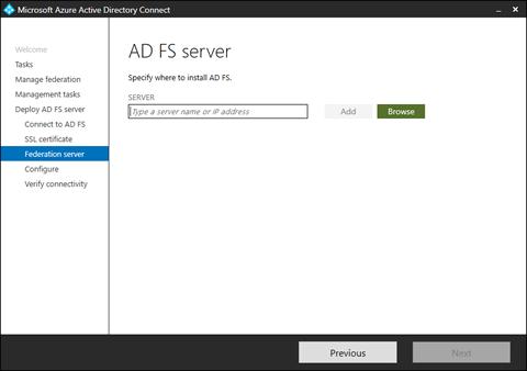 AD FS server (click for original screenshot)