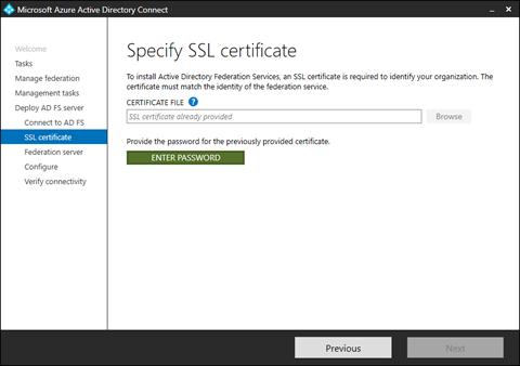 Specify SSL certificate (click for original screenshot)