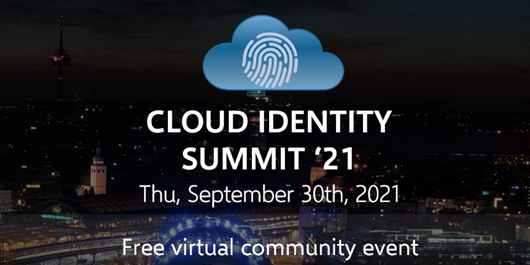 Cloud Identity Summit '21 banner