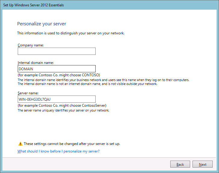 KnowledgeBase: Unable to install Windows Server 2012