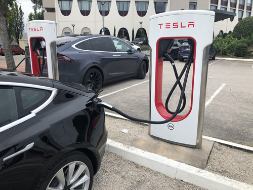 Supercharging our way to France