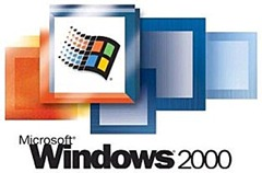 installed windows 2000 server yesterday the things that