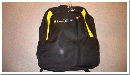 Sinergija 2014 conference bag (click for larger photo)