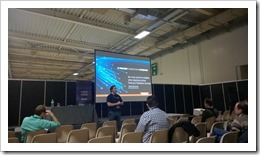 During the 'Ask me Anything on Licensing People-centric IT' (photo by Adnan Hendricks)
