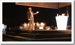 Mark Minasi keynoting NIC 4th Edition (click for larger photo)