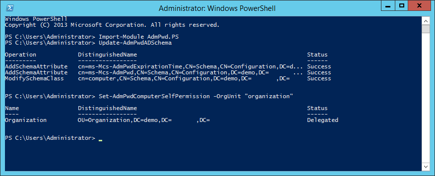 Reset local admin password windows 10 powershell | Reset the
