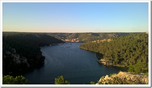 The city of Skradin (click for larger photo)