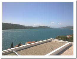 View from the balcony of the Grand Hotel Neum (click for larger photo)