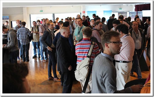 Breakfast Reception at ITPROceed (click for larger photo, courtesy of the ITPROceed Organization)