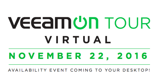 VeeamON Tour Virtual