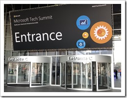 The Tech Summit Entrance (photo by Carlo van Venrooij)