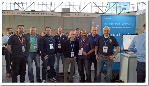 MVPs at the Amsterdam Tech Summit (photo by Hassan Fadili)