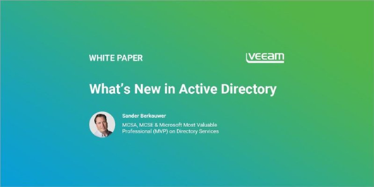 Veeam whitepaper: What's New in Active Directory