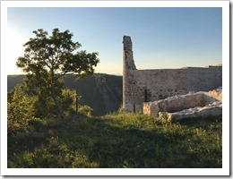 Visiting the Fortress of Necven in Krka National Park (click for larger photo)