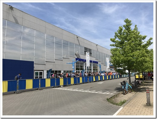 Outside of the Kinepolis Event Center (click for larger photo)