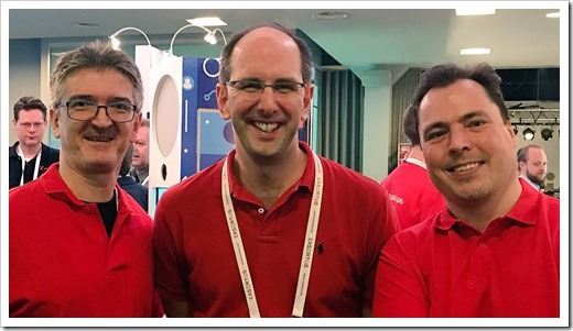 Red Shirt Selfie with Scott Guthrie (click for larger photo)