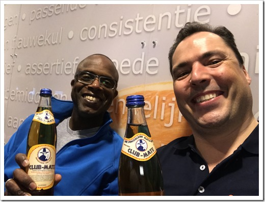 Club-Mate. Cheers! (click for larger photo)