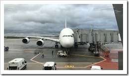 Boarding the A380 is not a small feat. (click for larger photo)