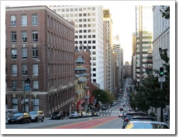 The hills of San Francisco (click for larger photo, by Aleksandar Nikolic)