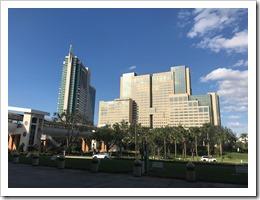 The Orlando Hyatt Regency (click for larger photo)