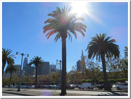 A sunny day at San Francisco's Embarcadero (click for larger photo, by Aleksandar Nikolic)