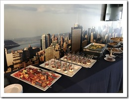 Breakfast at the WTC (click for larger photo)
