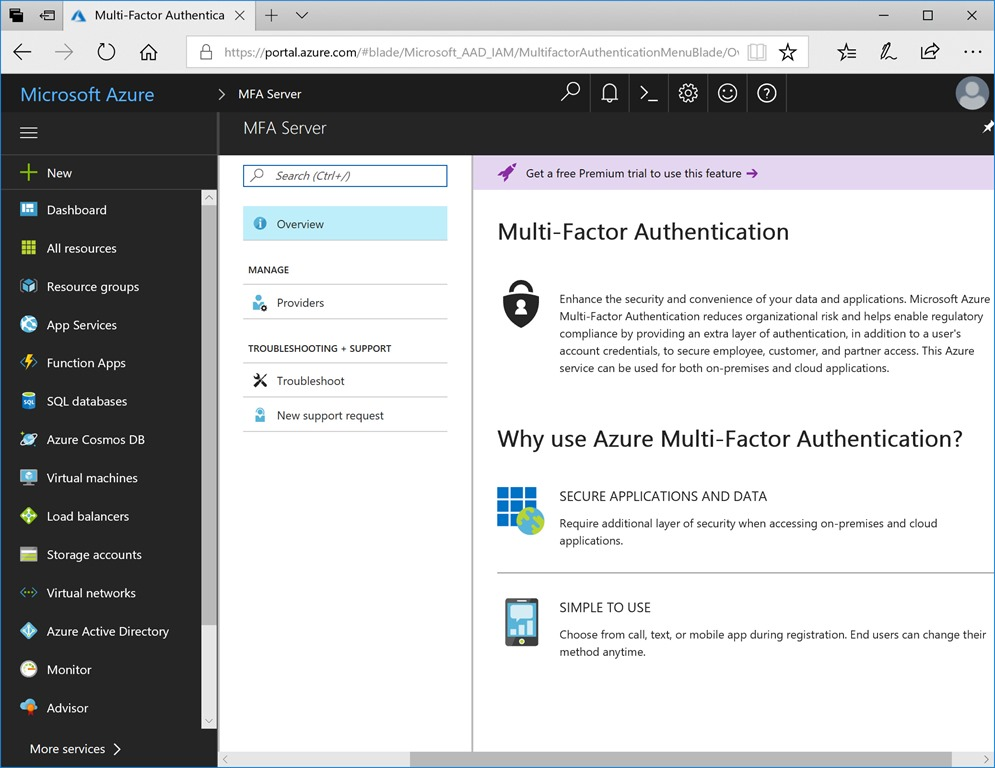 Installing Multi-Factor Authentication Server with the new