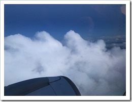 View from the window of flight KL1141 to Oslo Gardermoen (click for larger photo)