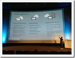 The differences between Azure AD Registered, Azure AD Joined and Hybrid Azure AD Joined (Photo by Thijs Moerman, click for larger photo)