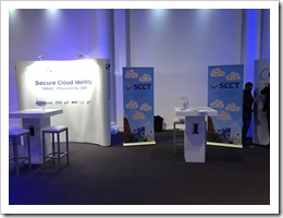 The SCCT Booth at the 2018 Heliview IAM Congres, right next to our friends from Tools4Ever (click for larger photo)