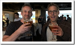 Cheers! Rasmus Hald and René van Osnabrugge (Click for larger photo)