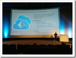 What is Azure AD? This slide keeps expanding... (Photo by Thijs Moerman, click for larger photo)