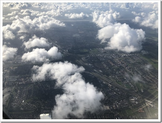 Our SCCT Office through the clouds (Click for larger photo)
