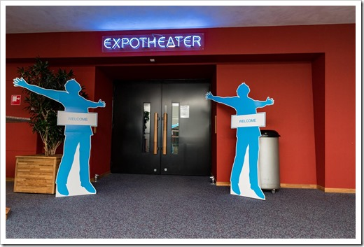The Expo Theater (click for larger photo, by Experts Live Organization)