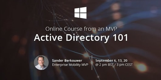 Active Directory 101: Online Course from an MVP