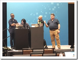 How Many (former-) VMware people do you need to troubeshoot VM Encryption? ;-) (click for larger photo)