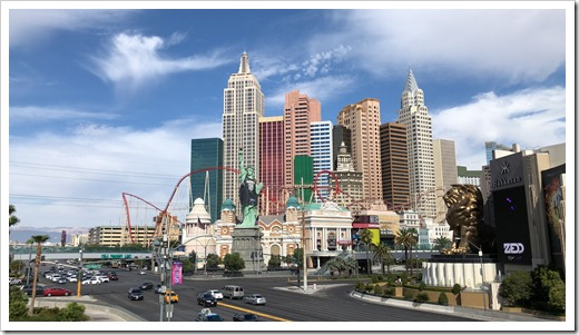 New York, New York - Vegas style (click for larger photo)