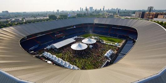 "Soccer club Feyenoord's ""De Kuip"" stadion in Rotterdam"