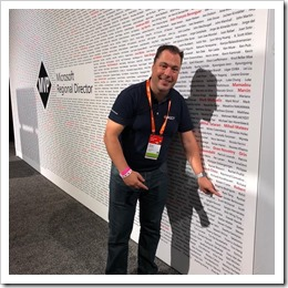 Found my name on the MVP Wall! (click for larger photo)