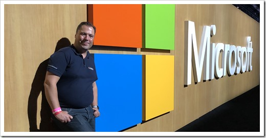A Picture at the Microsoft Wall, behind the Mechanics Studio (click for larger photo)