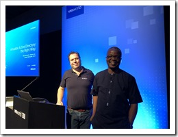 Smile! Deji and I a couple of moments before starting our session (click for larger photo)