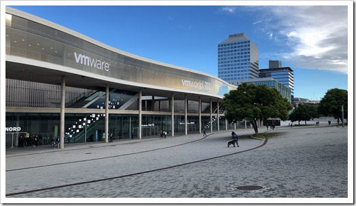 VMworld Europe 2018 at the Fira Gran Via (click for larger photo)